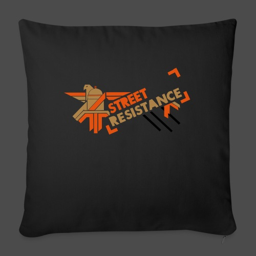 Resistance 01 - Sofa pillowcase 17,3'' x 17,3'' (45 x 45 cm)