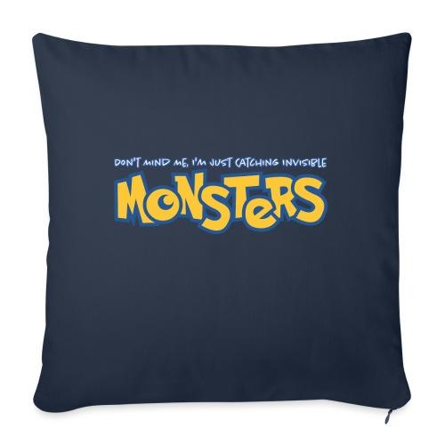 Monsters - Sofa pillowcase 17,3'' x 17,3'' (45 x 45 cm)