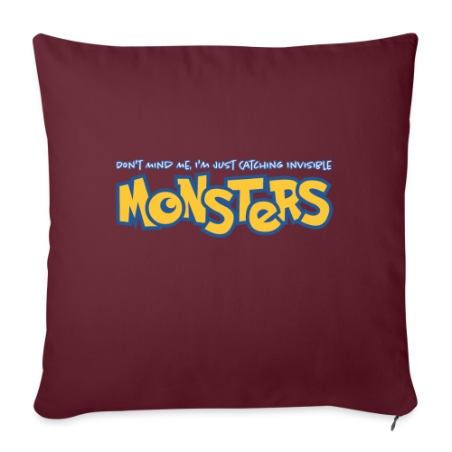 Monsters - Sofa pillowcase 17,3'' x 17,3'' (45 x 45 cm)