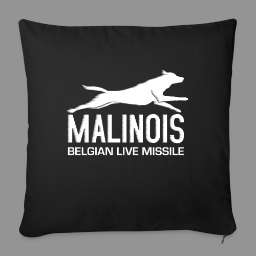 Belgian shepherd Malinois - Sofa pillowcase 17,3'' x 17,3'' (45 x 45 cm)