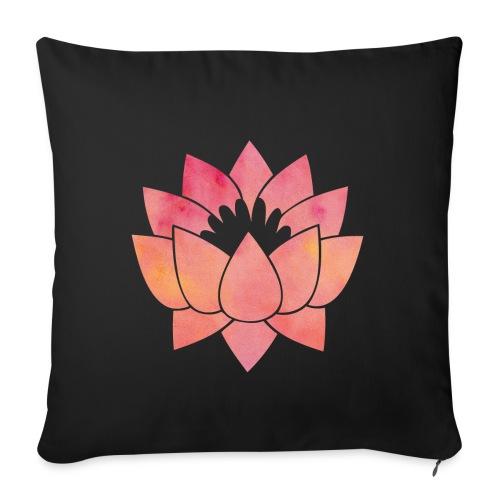 lotus-1 - Housse de coussin décorative 45x 45cm
