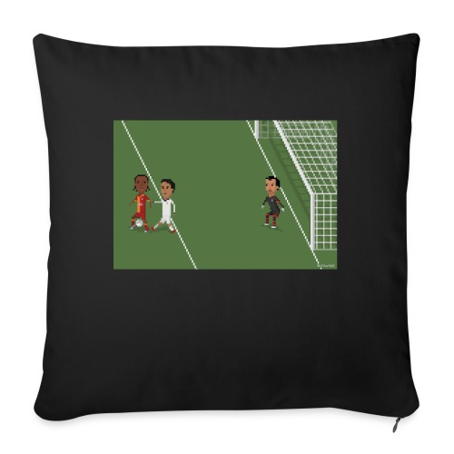 Backheel goal BG - Sofa pillowcase 17,3'' x 17,3'' (45 x 45 cm)