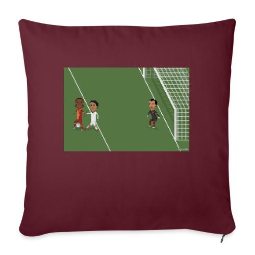 Backheel goal BG - Sofa pillowcase 17,3'' x 17,3'' (45 x 45 cm)