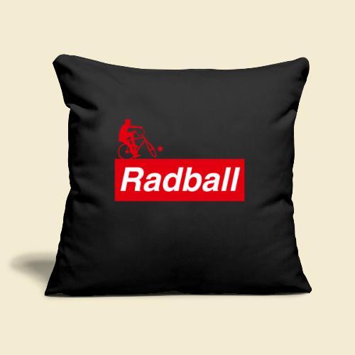 Radball   Red - Sofakissenbezug 44 x 44 cm