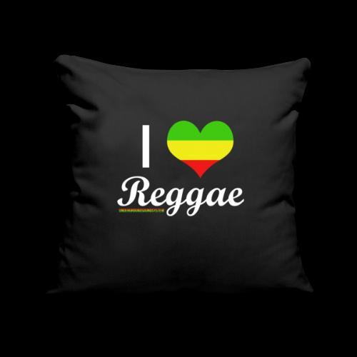 I LOVE Reggae - Sofakissenbezug 44 x 44 cm
