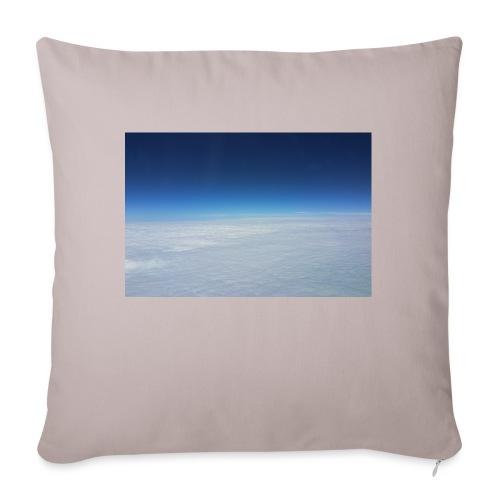 blauer Himmel, weiße Wolken - Flug über Australien - Sofakissenbezug 44 x 44 cm