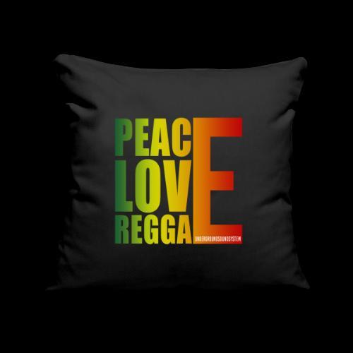 PEACE LOVE REGGAE - Sofakissenbezug 44 x 44 cm
