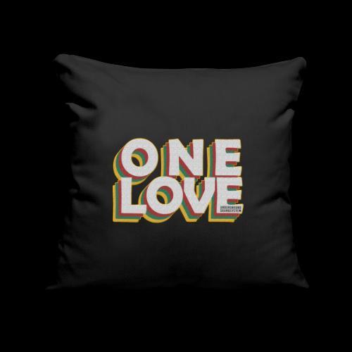 ONE LOVE - Sofakissenbezug 44 x 44 cm