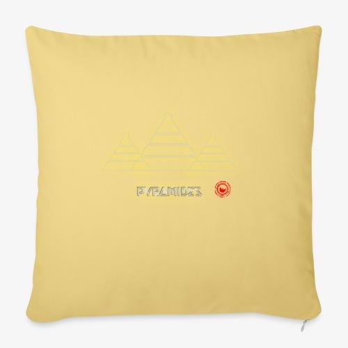 Pyramides - Sofa pillowcase 17,3'' x 17,3'' (45 x 45 cm)