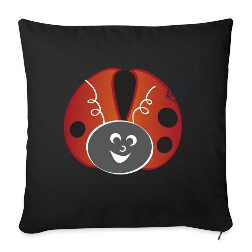 Ladybug - Symbols of Happiness - Sofa pillowcase 17,3'' x 17,3'' (45 x 45 cm)