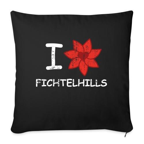 I love fichtelhills - Sofakissenbezug 44 x 44 cm