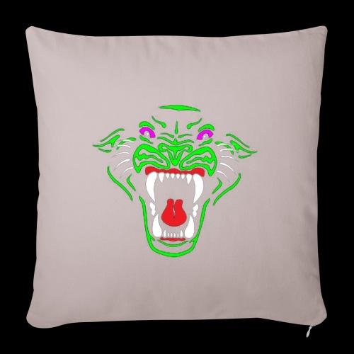 Panther logo tshiret png - Sofa pillowcase 17,3'' x 17,3'' (45 x 45 cm)