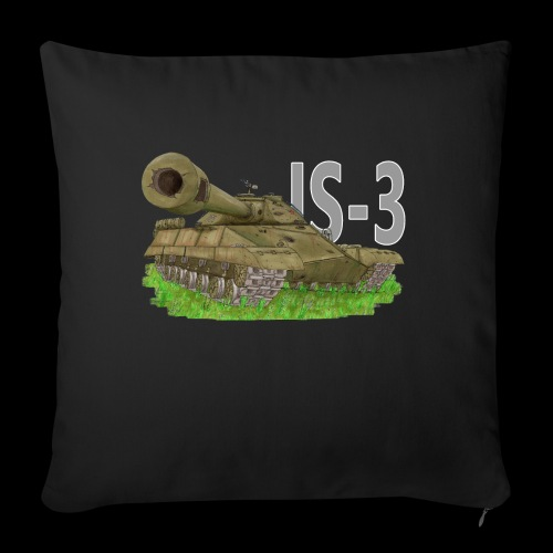 IS-3 (Writing) - Copricuscino per divano, 45 x 45 cm