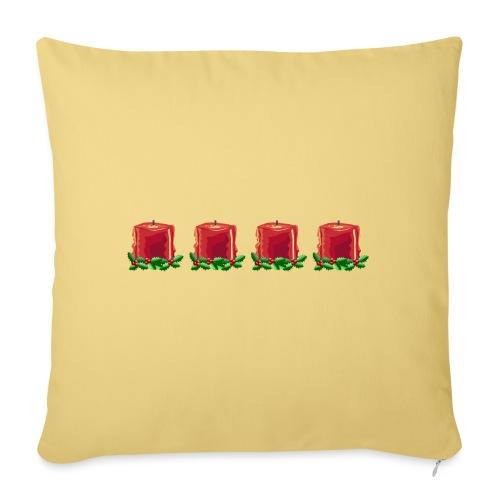 Advent countdown 1 - Sofa pillowcase 17,3'' x 17,3'' (45 x 45 cm)