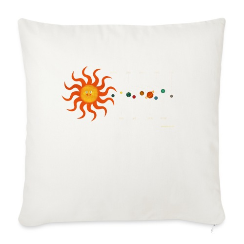 Solar System - Sofa pillowcase 17,3'' x 17,3'' (45 x 45 cm)
