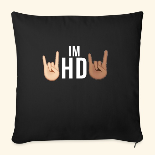 IM HD WHITE - Sofa pillowcase 17,3'' x 17,3'' (45 x 45 cm)