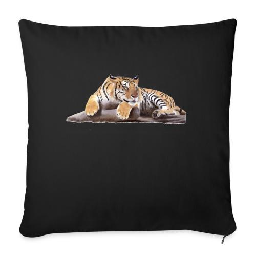 Tiger - Sofa pillowcase 17,3'' x 17,3'' (45 x 45 cm)