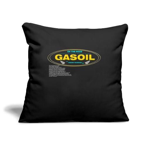 GASOIL - Housse de coussin décorative 45x 45cm
