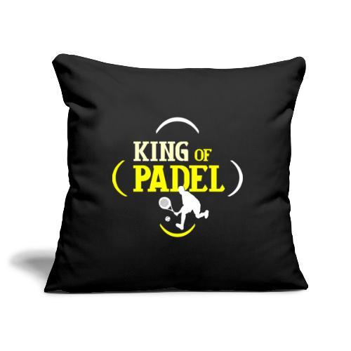 Kungen av Padel - Soffkuddsöverdrag, 45 x 45 cm