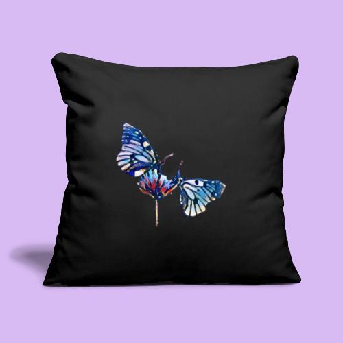Coppia di farfalle - Copricuscino per divano, 45 x 45 cm