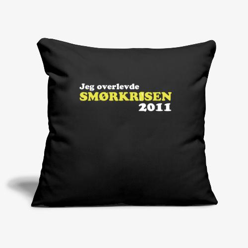 Smørkrise 2011 - Norsk - Sofaputetrekk 45 x 45 cm