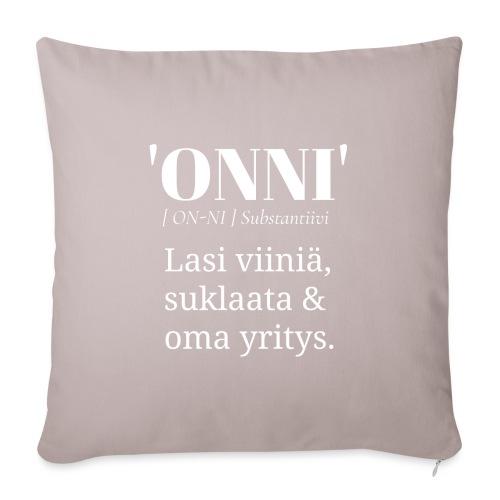 Onni Viini Suklaa - Sohvatyynyn päällinen 45 x 45 cm
