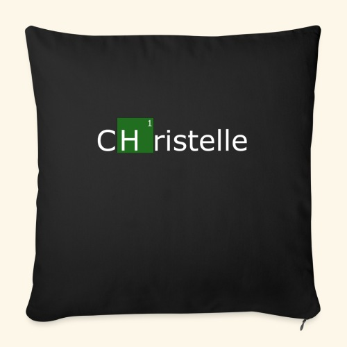 christelle - Housse de coussin décorative 45x 45cm