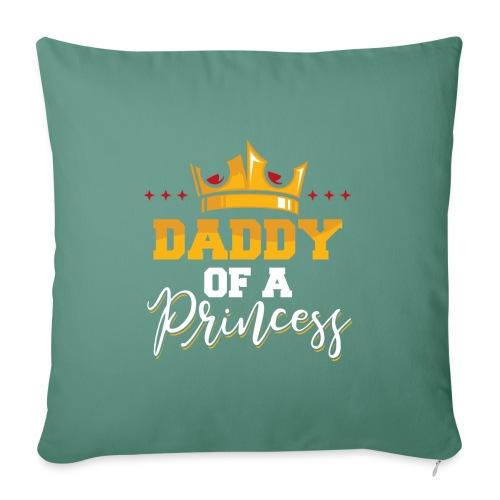 Daddy of a Princess Vater Tochter Partnerlook - Sofakissenbezug 44 x 44 cm