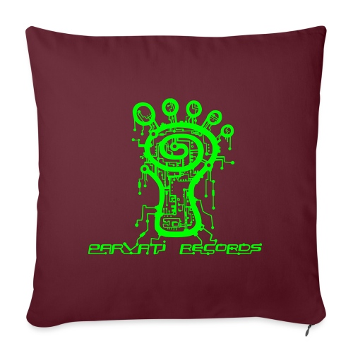 Parvati Records Matrix logo - Sofa pillowcase 17,3'' x 17,3'' (45 x 45 cm)
