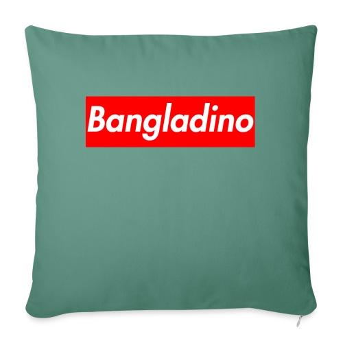 Bangladino - Copricuscino per divano, 45 x 45 cm