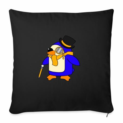 Cute Posh Sunny Yellow Penguin - Sofa pillowcase 17,3'' x 17,3'' (45 x 45 cm)