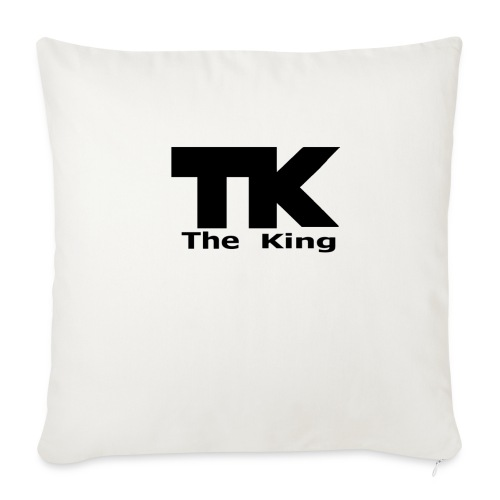The King med ram - Soffkuddsöverdrag, 45 x 45 cm