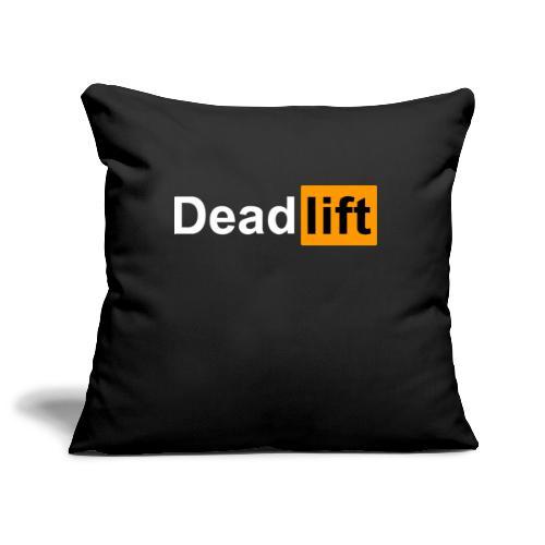 DeadLift X - Housse de coussin décorative 45x 45cm