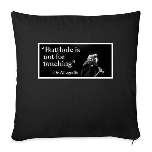 Dr Allegedly's Sage Medical Advice - Sofa pillowcase 17,3'' x 17,3'' (45 x 45 cm)