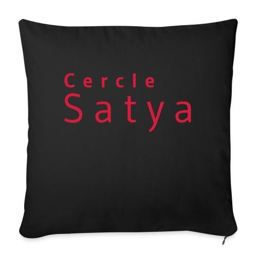 Cercle Satya - Housse de coussin décorative 45x 45cm