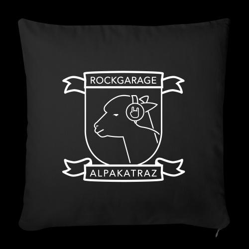 Rockgarage Alpakatraz - Sofakissenbezug 44 x 44 cm