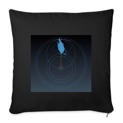 ISLE OF MAN QED - Sofa pillowcase 17,3'' x 17,3'' (45 x 45 cm)