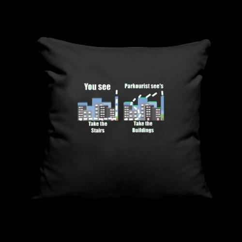 you see - Sofa pillowcase 17,3'' x 17,3'' (45 x 45 cm)
