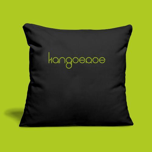 Green Kangoeroe design - Housse de coussin décorative 45x 45cm