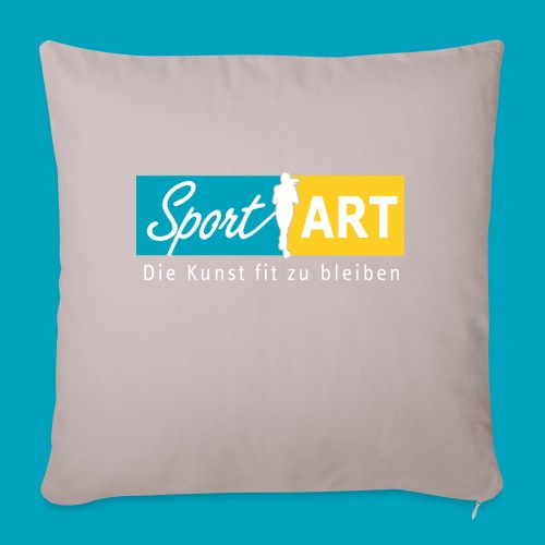 Logo drei Farben - Sofakissenbezug 44 x 44 cm
