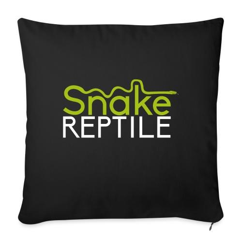 logo snake reptiles plus gros 02 1 png - Housse de coussin décorative 45x 45cm