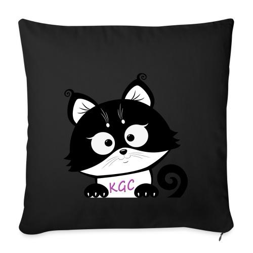LOGO BIG NoBG - Sofa pillowcase 17,3'' x 17,3'' (45 x 45 cm)