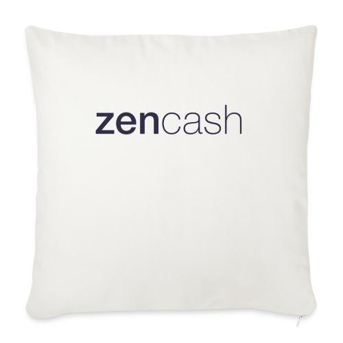 ZenCash CMYK_Horiz - Full - Sofa pillowcase 17,3'' x 17,3'' (45 x 45 cm)