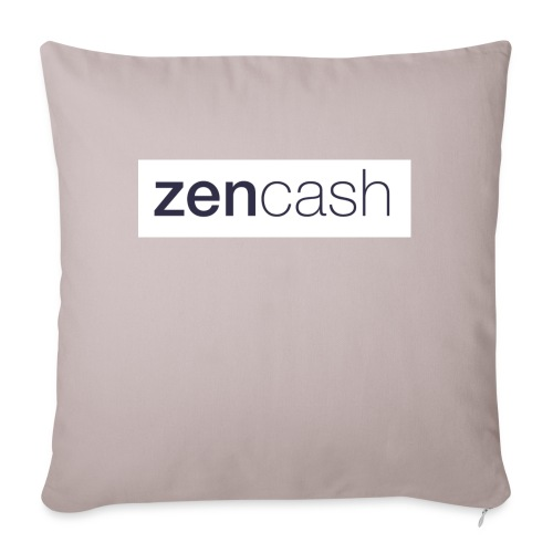 ZenCash CMYK_Horiz - Full - Sofa pillowcase 17,3'' x 17,3'' (45 x 45 cm)
