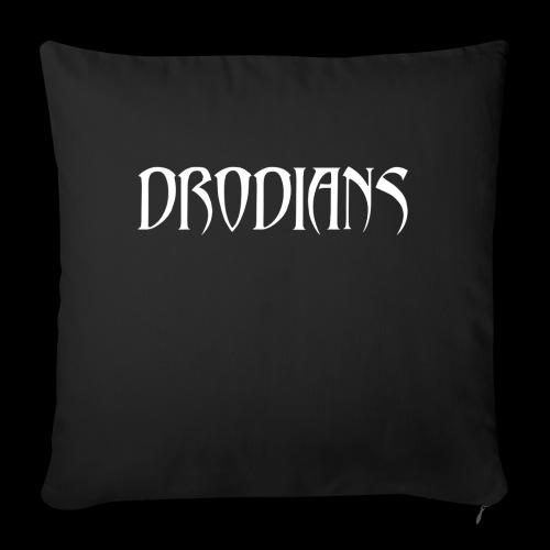 DRODIANS WHITE - Sofa pillowcase 17,3'' x 17,3'' (45 x 45 cm)