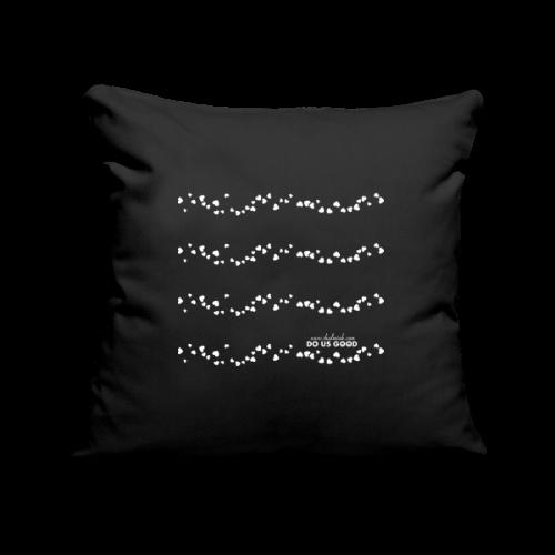 TWEET HEARTS - Sohvatyynyn päällinen 45 x 45 cm