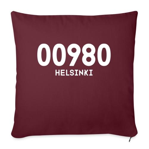 00980 HELSINKI - Sohvatyynyn päällinen 45 x 45 cm