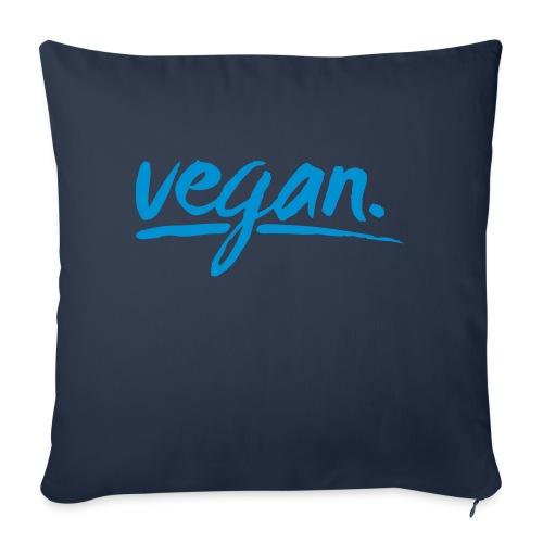 vegan - simply vegan ! - Sofakissenbezug 44 x 44 cm