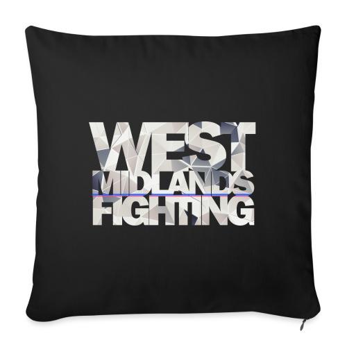 WMF low poly light - Sofa pillowcase 17,3'' x 17,3'' (45 x 45 cm)