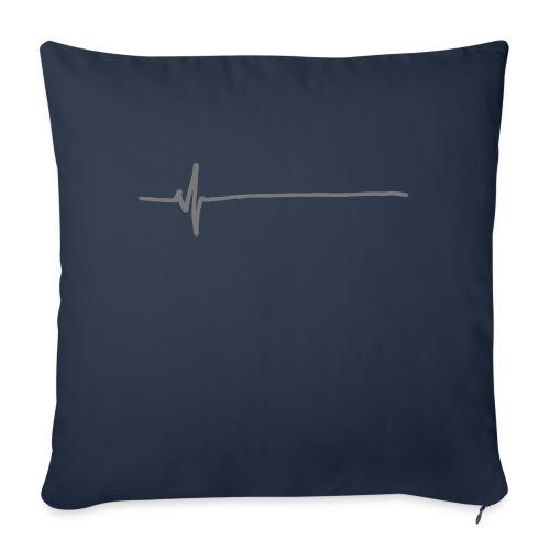 Flatline - Sofa pillowcase 17,3'' x 17,3'' (45 x 45 cm)